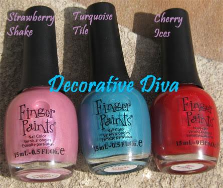 Finger Paints Sunburst Summer Collection