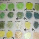 Fyrinnae Eyeshadow Swatches – Mostly Greens, Golds & Yellows