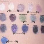 Fyrinnae Eyeshadow Swatches Miscellaneous