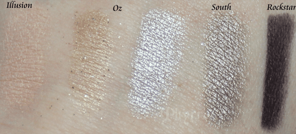 Urban Decay Disney Oz the Great and Powerful the Glinda Palette Swatches and Review