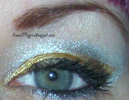Sugarpill Gold & Silver Look
