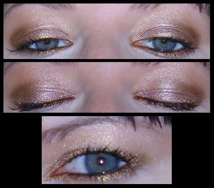 Golden Eye FOTD
