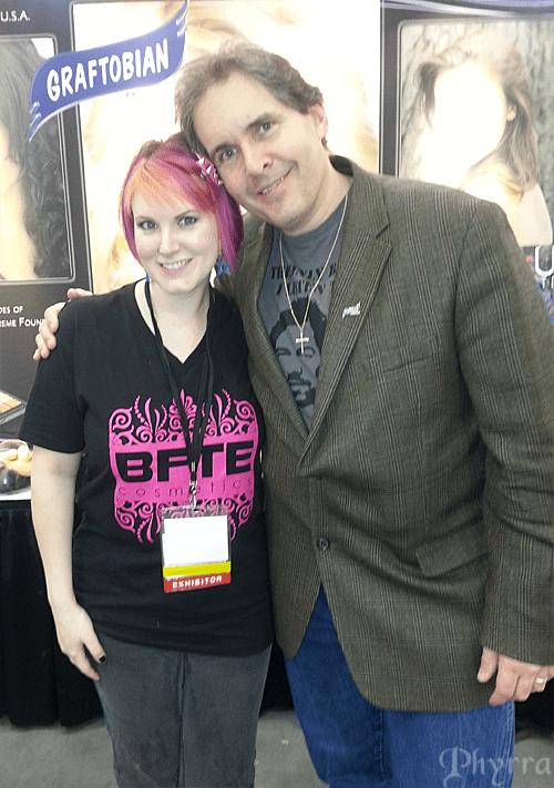 Eric Coffman of Graftobian Makeup