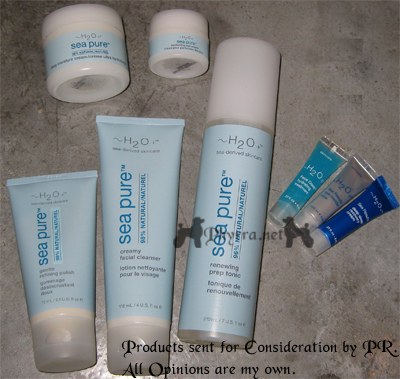 H2O Plus Sea Pure Natural Line - A Review