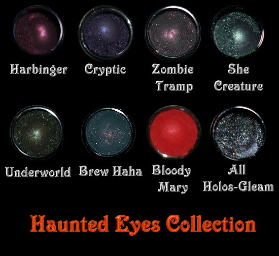 Morgana Minerals Haunted Eyes Collection