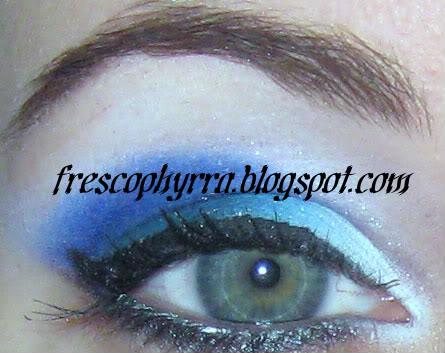 Medusa's Makeup Electro Indigo, Electro White, Electro Turquoise