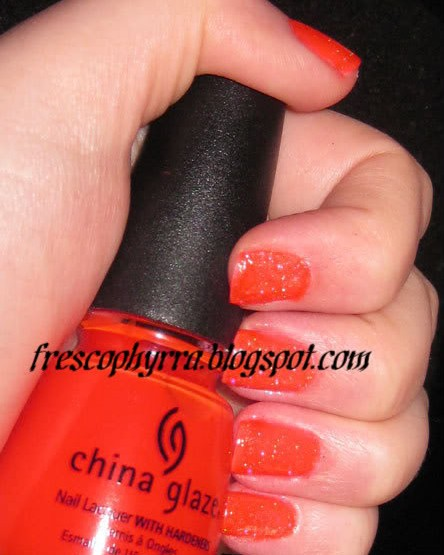 China Glaze Japanese Koi Sprinkled with Fairy Dust