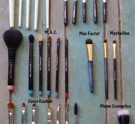 My Makeup Brushes