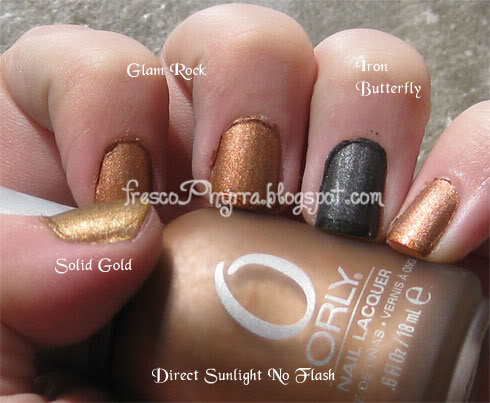 Orly's Metal Chic Metallic Matte Collection