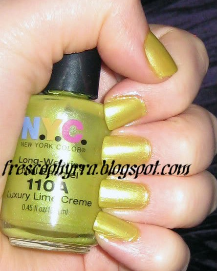 N.Y.C. Luxury Lime Creme