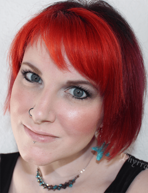 Wearing Urban Decay Naked Skin Beauty Balm Complexion Perfection Product