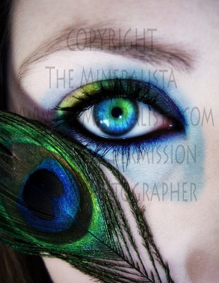 The Mineralista Peacock Collection FOTD