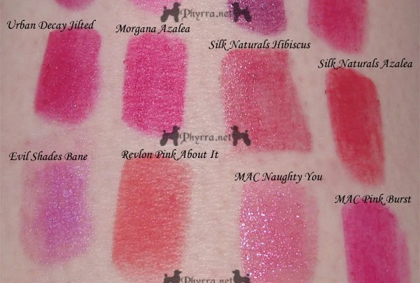 Reader Request - Bright Pink / Magenta / Fuchsia Lipsticks