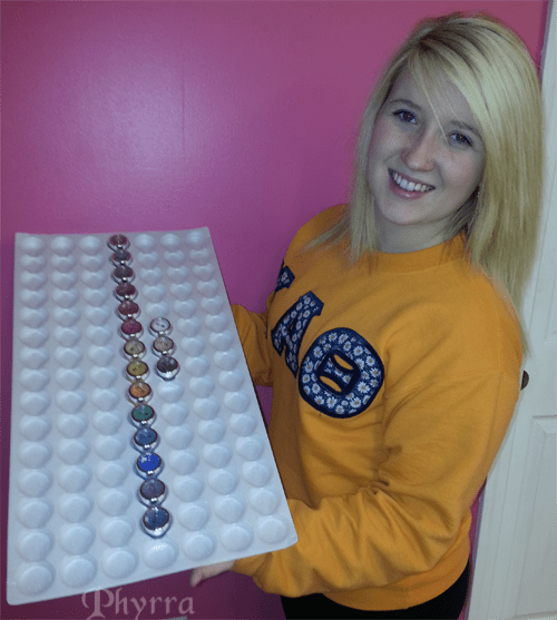 Kristy and a rainbow of BFTE colors
