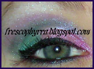 Glamour Doll Eyes Coral Reef & Pinky Swear