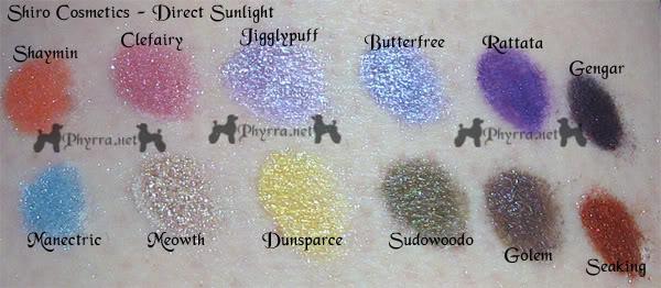 Shiro Cosmetics - New Colors
