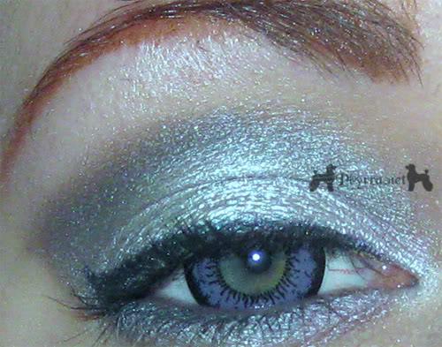 Silver Grey Violet