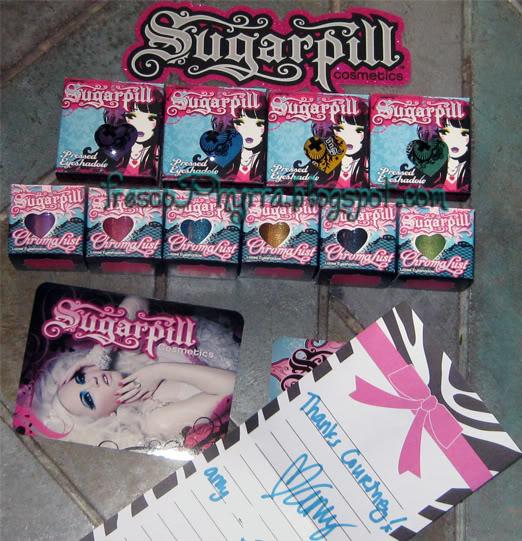 Sugarpill Arrived!