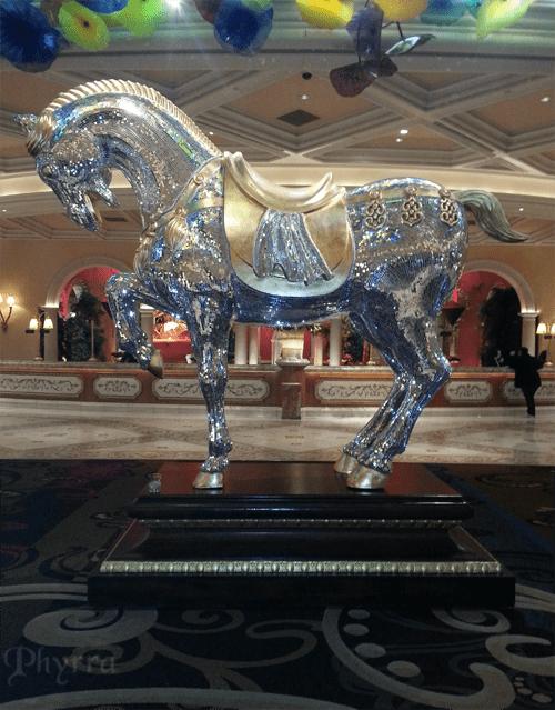Sparkle Pony at the Bellagio