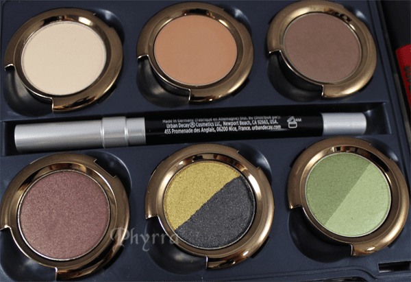 Urban Decay Disney Oz the Great and Powerful the Theodora Palette Swatches and Review