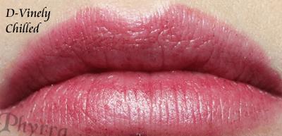 Wet n' Wild D-Vinely Chilled Lipstick Swatch