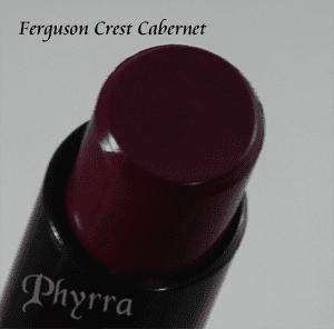 Wet n' Wild Fergie Ferguson Crest Cabernet Lipstick