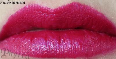 Wet n' Wild Fergie Fuchsianista Lipstick Swatch