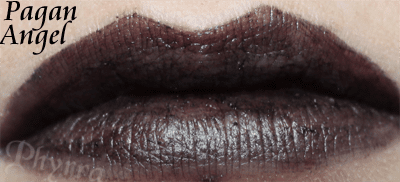 Wet n Wild Fergie Pagan Angel Lipstick Swatch