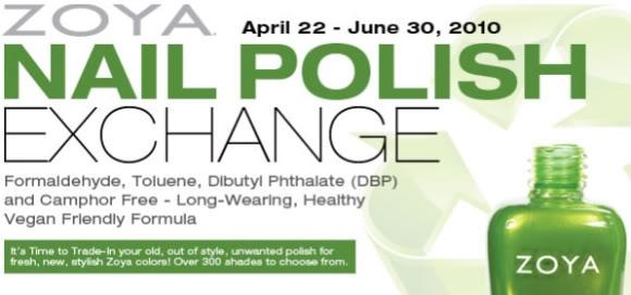 The Great Zoya Nail Polish Exchange