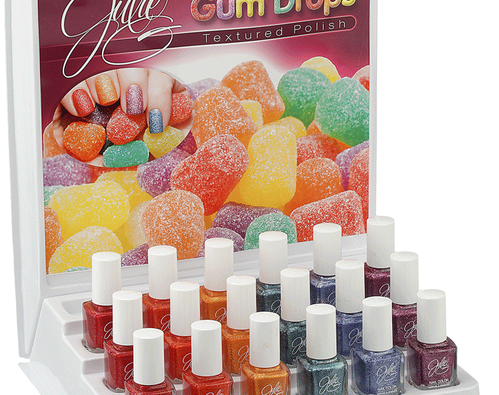 Jesse's Girl JulieG Frosted Gum Drops Polishes are coming!