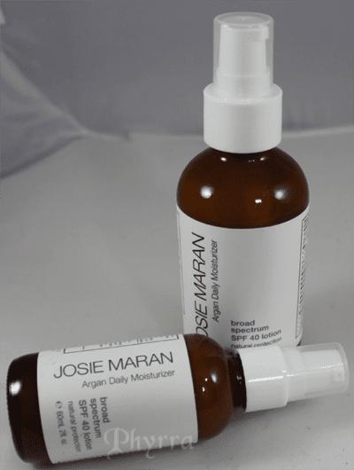 Josie Maran Argan Oil SPF 40 Moisturizer Review