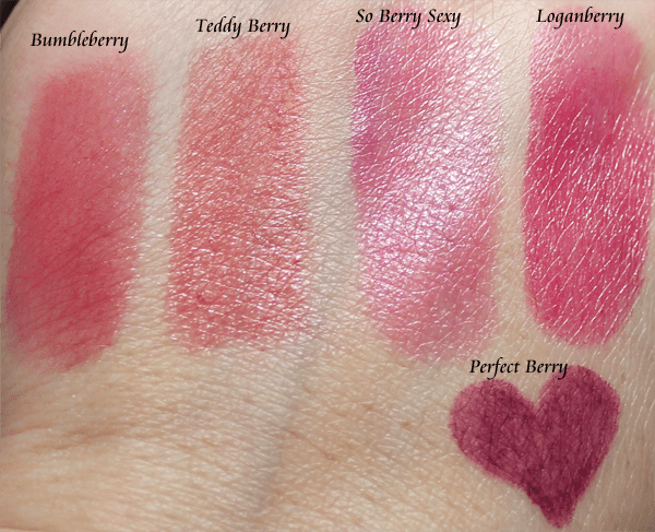 Too Faced Spring 2013 Lipstick Swatches