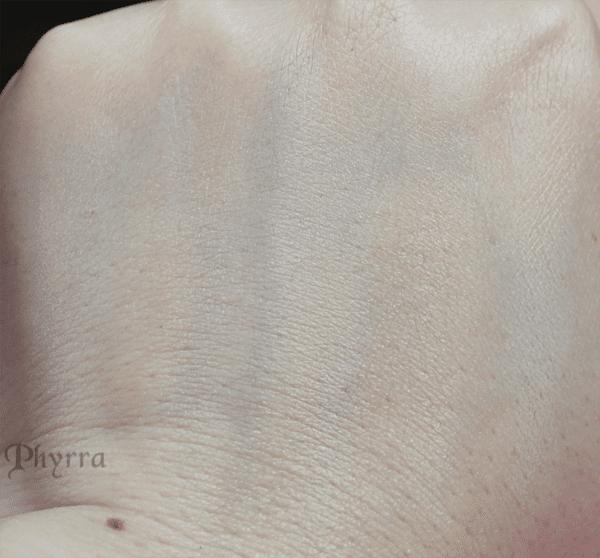 L to R - Silk Sprite - Nymph - Porcelain - Lady Fair - Ivory