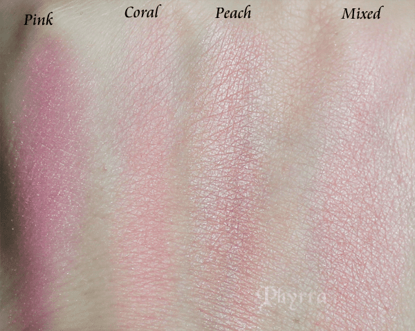 Too Faced Sweethearts Blush Swatches