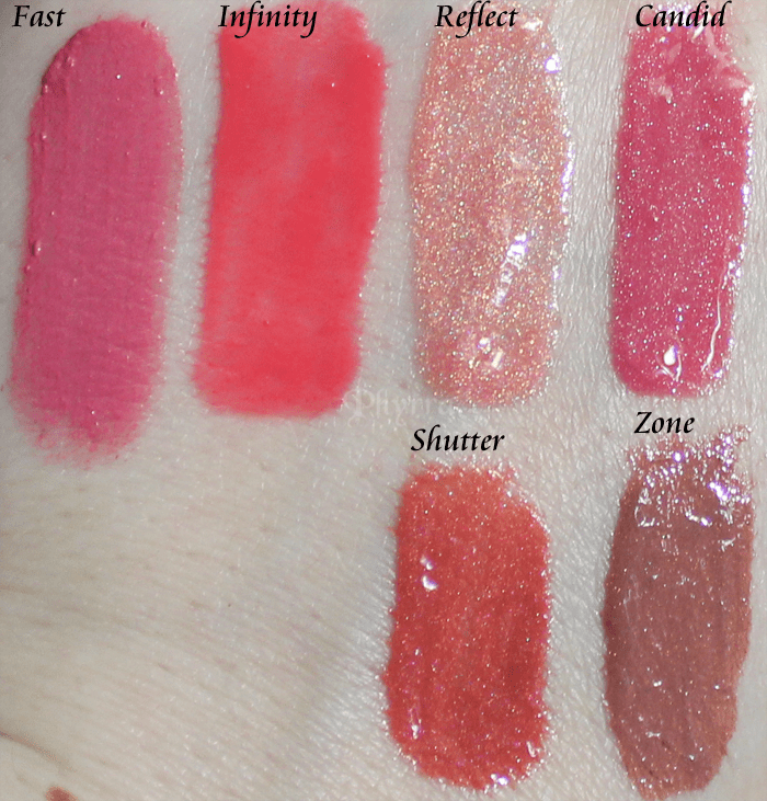 Silk Naturals Valentine's Day 2013 Lip Glaze and Lip Glosses