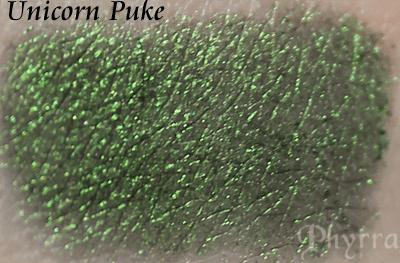 Virus Insanity Unicorn Puke Swatch
