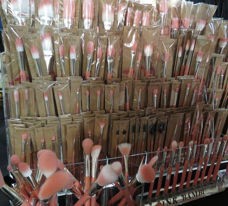 bdellium tools at the Makeup Show LA