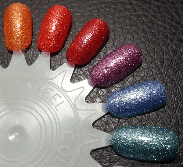 Jesse's Girl JulieG Frosted Gum Drops Nail Polish Swatches and Review