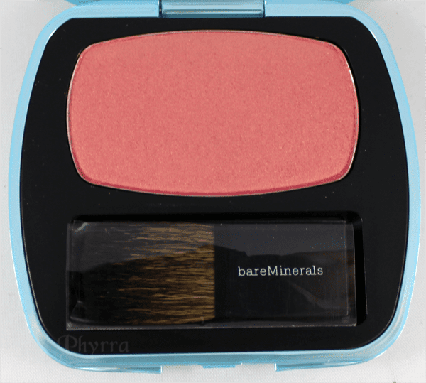 bareMinerals the Natural High Blush Review and swatches on pale skin