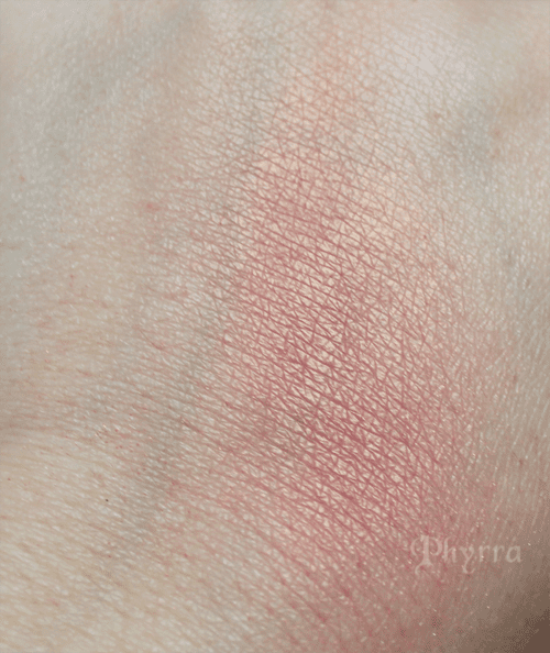 bareMinerals the Natural High blush swatch