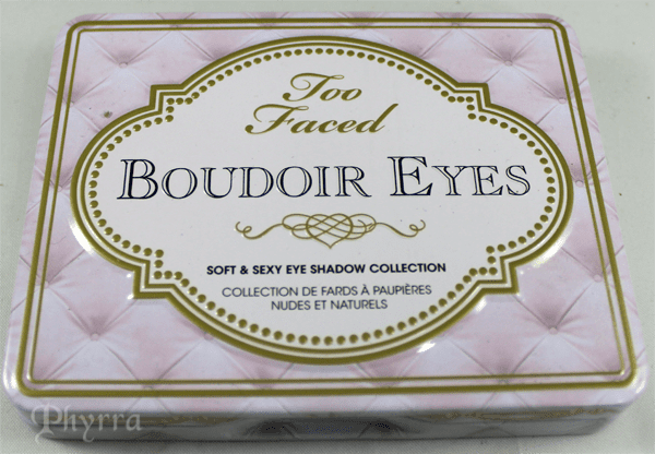 Too Faced Boudoir Eyes Shadow Collection Review