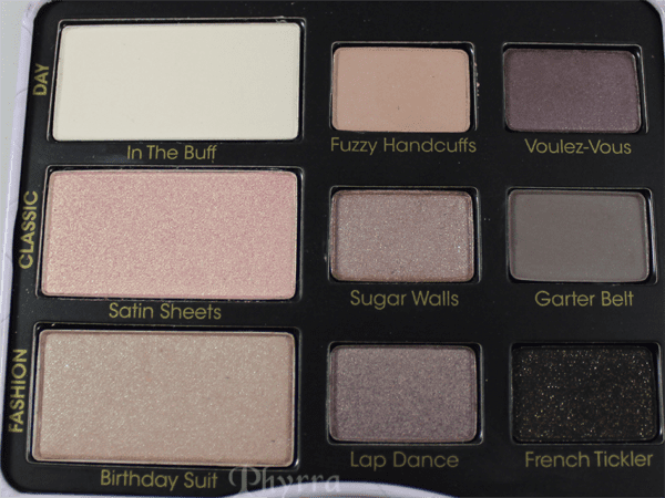 Too Faced Boudoir Eyes Shadow Collection Review and Swatches
