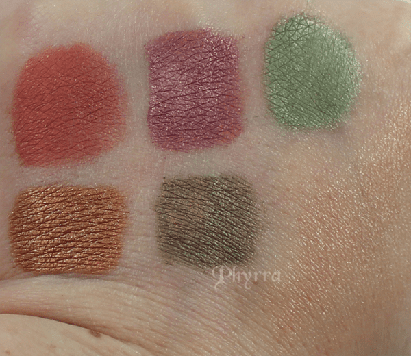 Fyrinnae 50s Retro Collection Review and Swatches