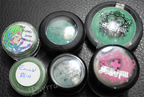 6 Emerald Green Eyeshadows