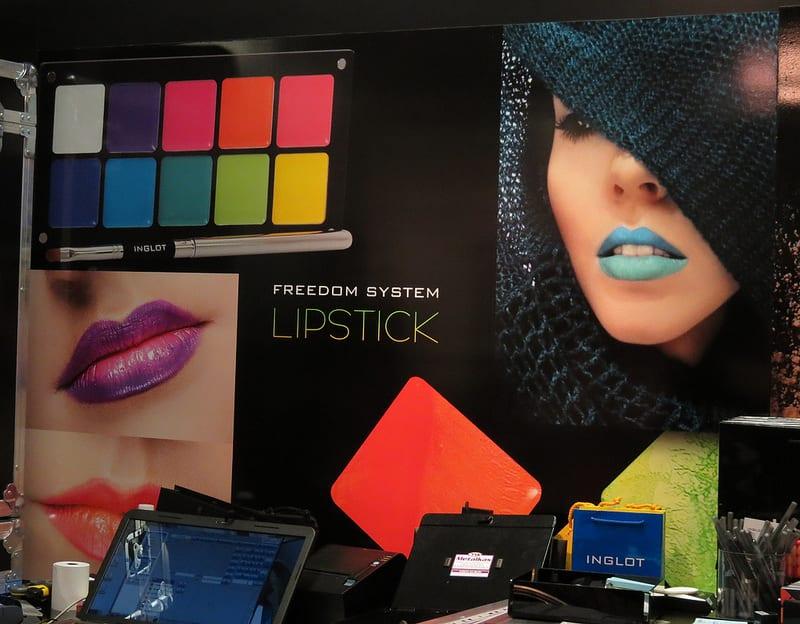 Inglot Cosmetics at the Makeup Show LA