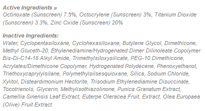 Supergoop Ingredients