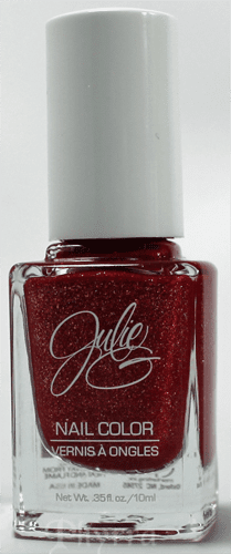 Jesse's Girl JulieG Frosted Gum Drops Hot Cinnamon Nail Polish