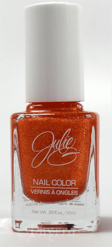 Jesse's Girl JulieG Frosted Gum Drops Tangerine Dream Nail Polish