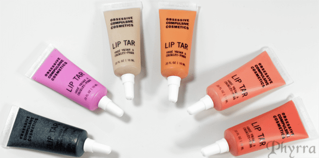 OCC Sci-Fi Lullabies Lip Tars Review and Swatches
