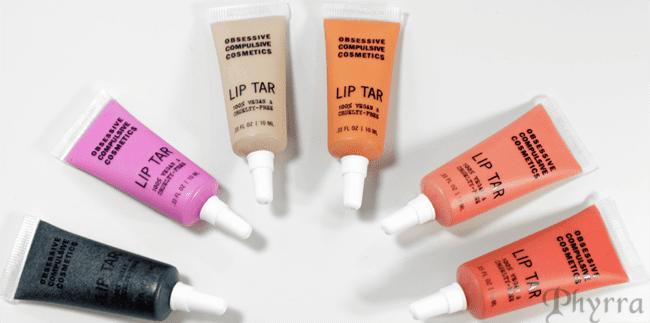 Obsessive Compulsive Cosmetics, OCC, Sci-Fi Lullabies, Lip Tars, Swatches, Review